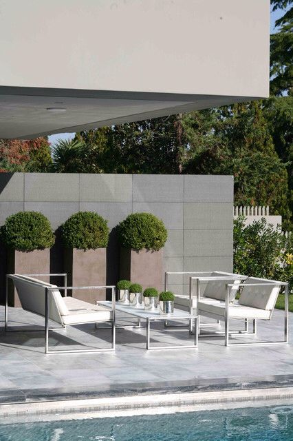 Outdoor Pots and Atriums